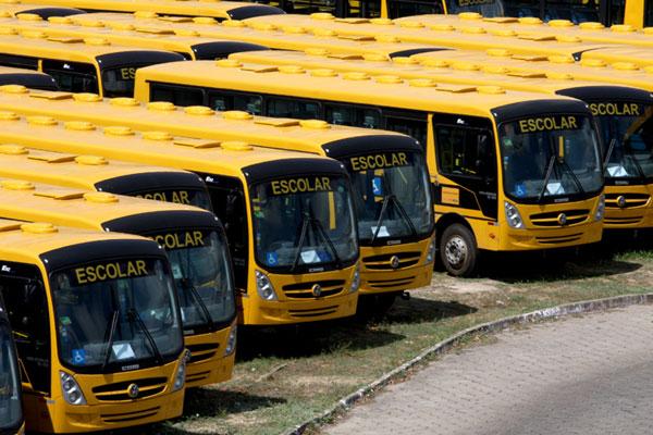 Resultado de imagem para transporte escolar rural no rn